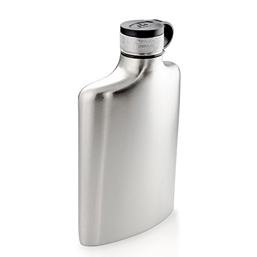 GSI Outdoors - Glacier Stainless 8 Fl. Oz. Hip Flask, Superior Backcountry Cookware Since 1985