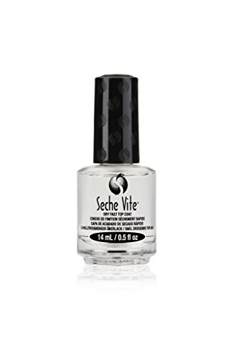 Seche Vite Dry Fast Top Coat Boxed 0.5oz (6 Pack) by Seche