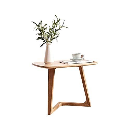 ZXNRTU Diseño simple Mesa de café Trabajar, Home Office Furniture Z-Shape Sofá Tabla Mesa auxiliar Bandeja de TV Snack-escritorio del ordenador portátil movible de stands en la sala de estar for la sa