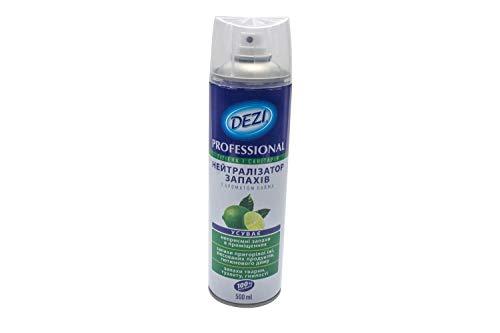 Geruchsneutralisierer 500 ml. Spray Geruchsentferner für Wohnung und Küche. Entfernt Geruch von Schimmel Nikotin, Rauch, Urin, Haustiere, Pflege. Geruchskiller