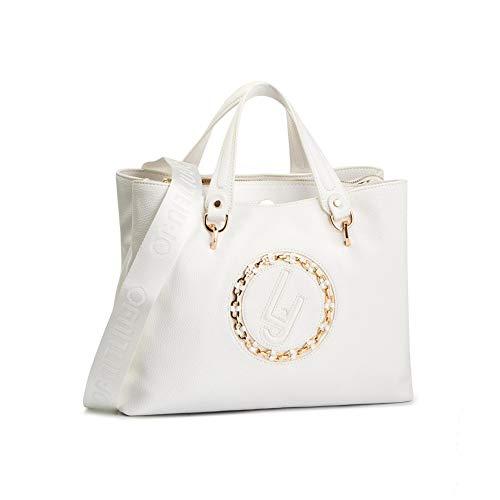 LIU JO SHOPPING BAG N19211E0037 01065 OFF WHITE