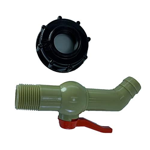 Milageto Adaptador de grifo de agua, conector de manguera de agua para jardinero, piezas de montaje, grifo con tamaño pequeño de alta calidad y servicio - H