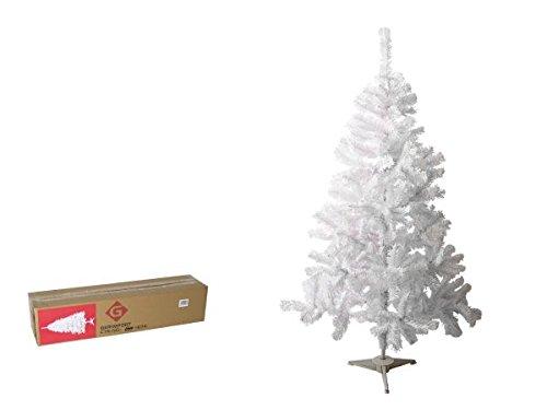 Gerimport Arbol Navidad 150cm Blanco 257 Puntas Caja 83x19x19cm