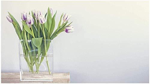Houten puzzel 1000 stukjes Volwassen kinderen Puzzel Educatief spel speelgoed-Waterbloemen De beste keuze voor huisdecoraties en geschenken-75x50 cm