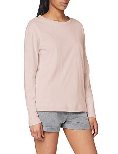 Triumph Mix & Match LSL Top 02 Camiseta de Pijama, Mauve, 38 para Mujer