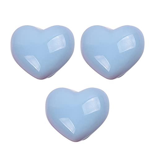 3 piezas Pomos de puerta para niños Manijas azul Armario Tiradores de...