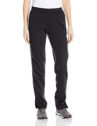 adidas Women's Soccer Tiro 17 Training Pants, Black/Black, Large