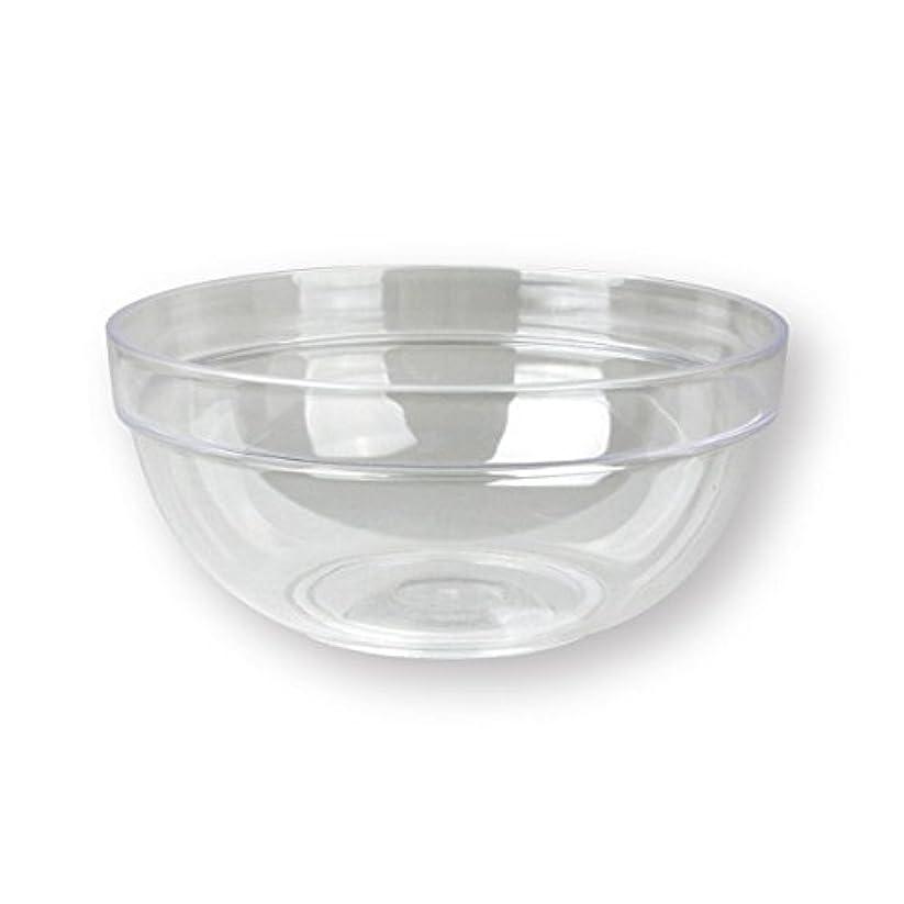 生むにじみ出るコマース4個セットプラスチックボール プラスチック ボウル カップクリア 直径20cm