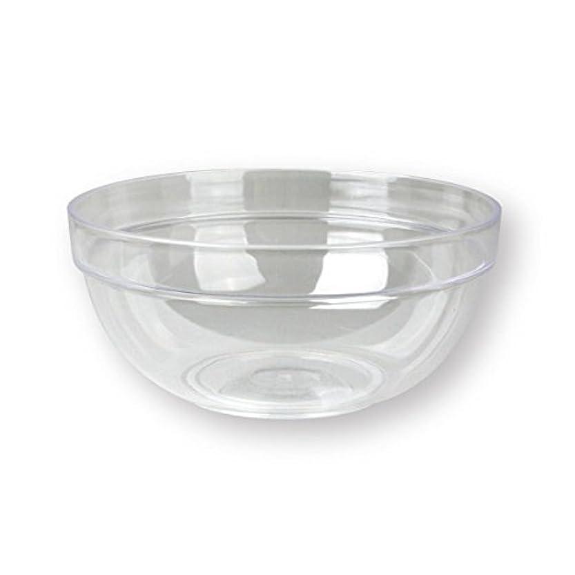 統計的成熟モック4個セットプラスチックボール プラスチック ボウル カップクリア 直径20cm