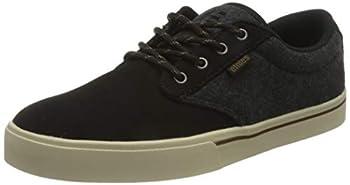 Etnies mens Jameson 2 Eco Skate Shoe Black/Heather 10 US