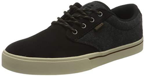 Etnies Jameson 2 Eco, Zapatos de Skate Hombre, Negro/Calor, 46 EU
