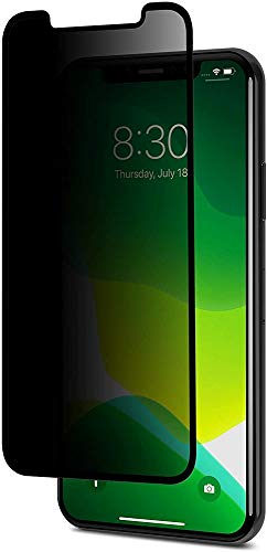 Moshi IonGlass Privacy Glass Screen Protector Compatible with iPhone 11 Pro, iPhone Xs/X, iPhone 5.8