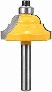 KATUR Classical Roman Ogee Edge Forming Router Bit 1/4 Inch Shank, Classical and Bead Molding and Edging Router Bit, Architectural Molding Router Bit (1/4