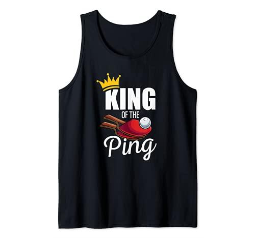 Regalo de tenis de mesa para hombres y mujeres - Ping Pong Camiseta sin Mangas
