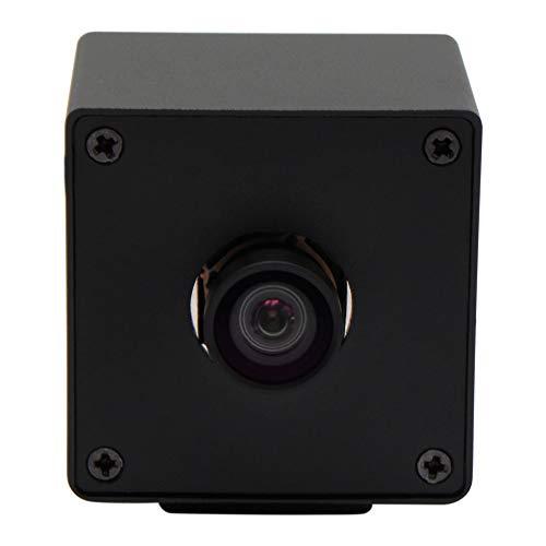 ELP Ultra HD 4K Webcam mit No Distortion Objektiv IMX317 Sensor PC Mini Webkamera Unterstutzung 3840x216030fps2160P USB Videokonferenz Webcams fur MacWindowsLinuxRaspberry Pi USB4KHDR01 KL100
