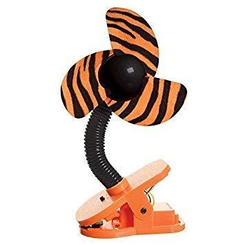 DREAMBABY™ Stroller Fan - Ventilateur à Clipser de Poussette (Motif: Tigre)
