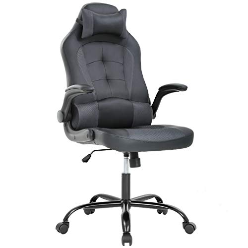 BestOffice High-Back Faux Leather Office Chair