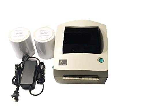 Zebra LP 2844 Direct Thermal Label Printer 2844-20300-0031