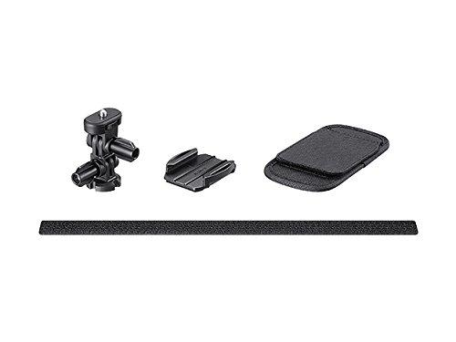 Sony VCT-BPM1 Rucksackhalterung (Halterung mit Klettverschluss, schnelles Anbringen und Entfernen, geeignet für Action Cam FDR-X3000, FDR-X1000, HDR-AS300, HDR-AS200, HDR-AS50) schwarz