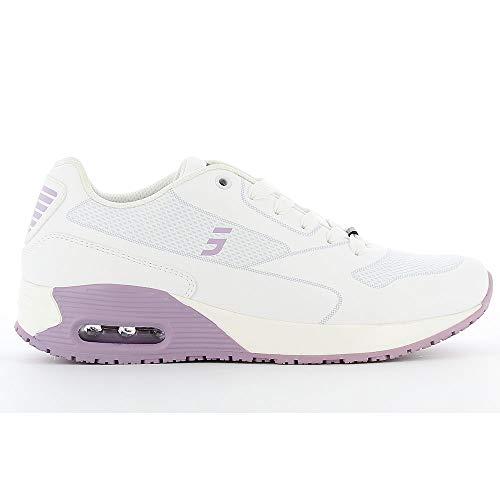 Oxypas Damen Ela SCR, Sportschuhe, Arbeitsschuhe, Sneaker (ElaS3901lic), Lila, 39 EU