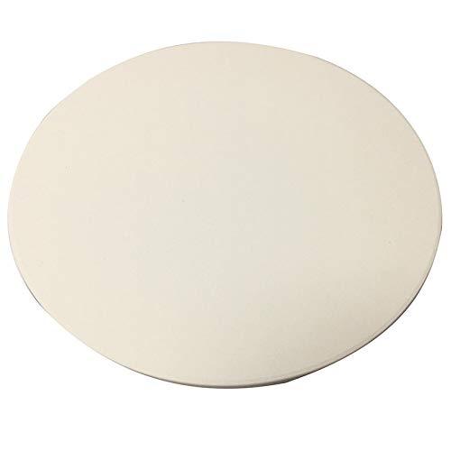 YeBetter - Piedra de pizza de 33 cm para cocinar y hornear a la parrilla extra gruesa, herramientas para horno y barbacoa, horno, bandeja para pan, cocina y horno
