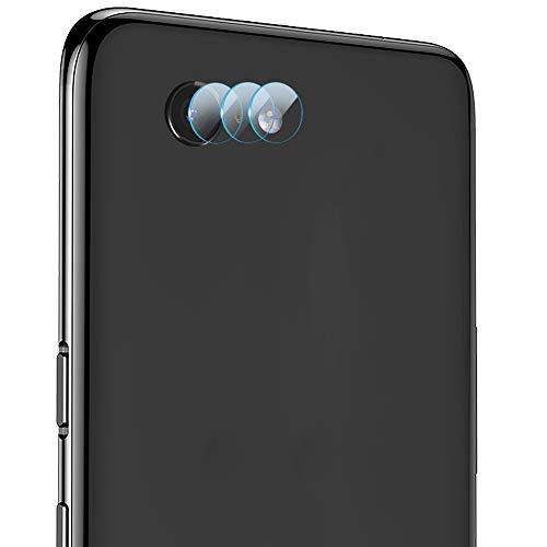 LZS Fotocamera Posteriore in Vetro temperato per Google Pixel 3A XL, Senza Bolle, Protezione Pellicola per Obiettivo Posteriore, Pellicola Protettiva 9H Che Copre Un graffio Ultra Trasparente