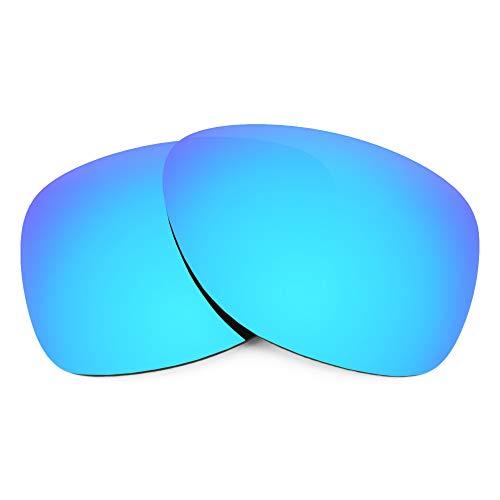 Revant Verres de Rechange Compatibles avec Oakley Dispatch 2, Polarisés, Bleu Glacier MirrorShield