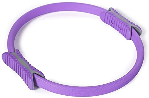 ZHENYUE Becken- Exerciser Ring Hoop Startseite Oberschenkel Pilates Muskel Fitness Equipment Skulptur Bauch Taille Arm Bauch Trainer Abnehmen Yoga, D (Color : A)