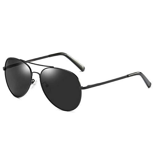 KDOAE Gafas de Sol Deportivas Gafas de Sol polarizadas Conductor Masculino antideslumbrante Gafas de Sol polarizadas de conducción Hombres Mujeres (Color : Black, Size : One Size)