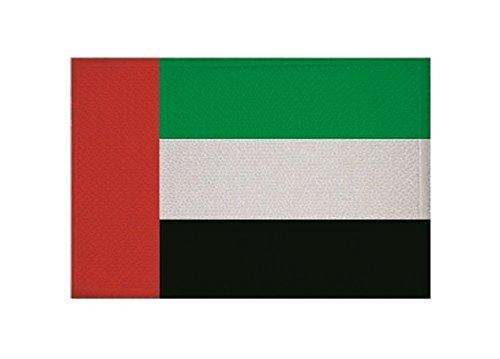 U24 Aufnäher Vereinigte Arabische Emirate VAE Fahne Flagge Aufbügler Patch 9 x 6 cm