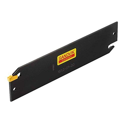 Sandvik Coromant, 151.2-25-40, Steel T-Max Q-Cut Blade for Parting, Neutral Cut, No Coolant, 90 deg Cutting Edge Angle