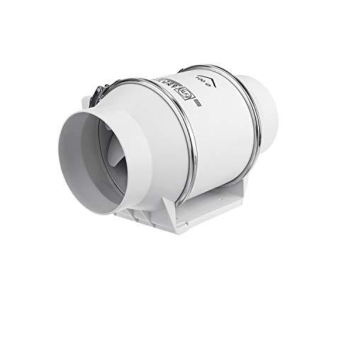 JYDQM Ventilador de Escape, inodoros montables en Ventanas de Pared, Cocina, baño, hogar, silencioso, tubería en línea, conducto, Ventilador, ventilación, Limpieza de Aire