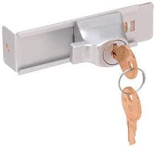 CRL Aluminum Finish Stick-On Showcase Lock - Keyed Alike