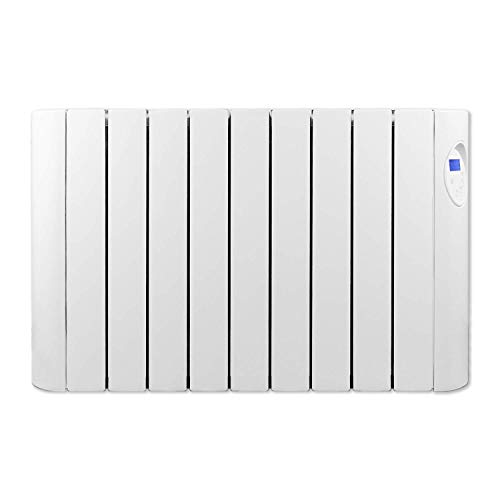 Futura 600W-1800W Oil Filled Electric Wall Mounted Radiator