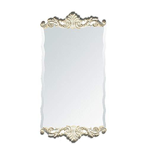 YBGW Standspiegel Groß Spiegel Im Europäischen Stil Dekorativer Spiegel Badezimmerspiegel Passender Spiegel Waschtisch Kosmetikspiegel Körperspiegel Schminkspiegel Wandbehang