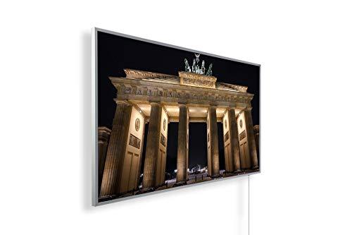 Bild Infrarotheizung (130W/300W/450W/600W/800W/1000W) mit 5 Jahren Garantie (1000, Brandenburger Tor)
