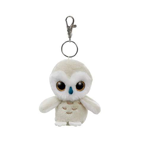 Aurora YooHoo Schnee-Eule Schlüsselanhänger 9 cm
