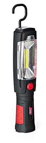 Tayg 502606 Lámpara Portátil Recargable, Rojo y Negro