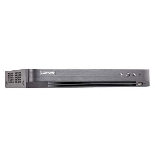 Hikvision Digital Technology DS-7204HUHI-K1 Digitaler Videorekorder (DVR) Schwarz - Digitale Videorekorder (DVR) (Schwarz, H.264,H.264+,H.265,H.265+, NTSC,PAL, 1.0 Kanäle, 12 V, 4 Kanäle)