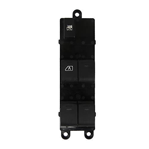 Interruptor de Elevalunas Eléctrico de Ventana para Nissan Qashqai J10 JJ10 Interruptor Eléctrico Delantero Izquierdo 25401-EB30B