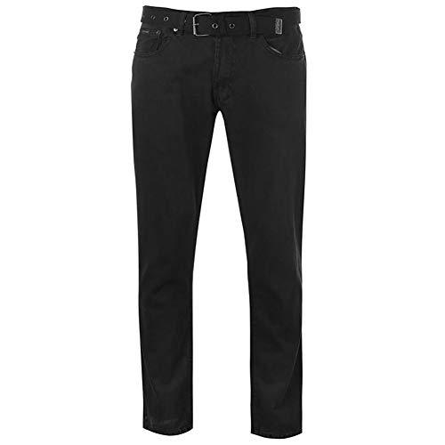 Pierre Cardin Hombre Vaqueros Hombre Jeans Ajuste Regular Clásico 5 Bolsillos con Cintura