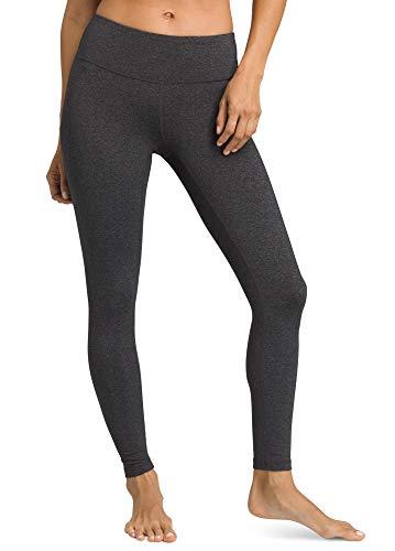 prAna - Women's Pillar Legging, Charcoal Heather, Large