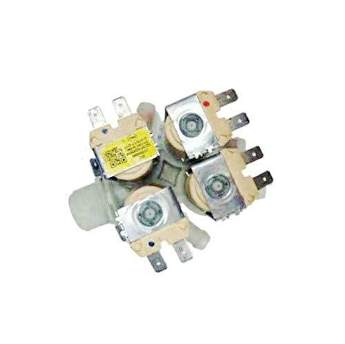 TangMengYun Válvulas de Solenoide Compatible con la válvula solenoide de la Entrada de Las Piezas de la Lavadora Samsung DC62-00214N WD806U2GASD GAGD 90K6410OW