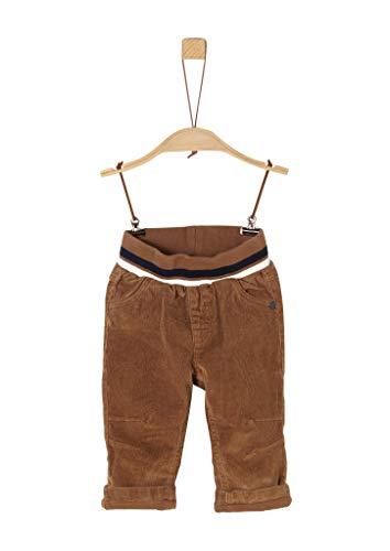s.Oliver Baby-Jungen 65.909.73.2171 Hose, Braun (Brown 8489), (Herstellergröße: 80)