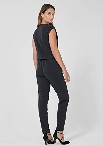s.Oliver BLACK LABEL Damen Overall mit Ausschnitt, schwarz - 4