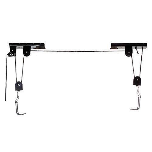 Con cubierta protectora Cuerda redonda estable de ø 5 mm Hasta 4 m de altura Utilizabe para hasta 30kg de carga Con ganchos protectores