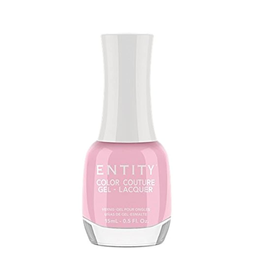 エキゾチックデザイナー実施するEntity Color Couture Gel-Lacquer - Wearing Only Enamel & A Smile - 15 ml/0.5 oz