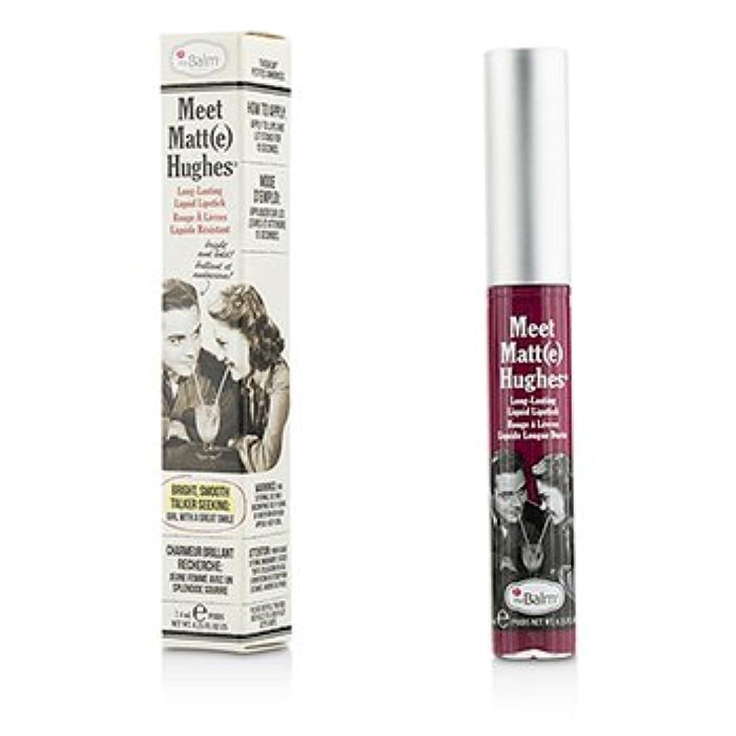 オフェンス探検確認する[TheBalm] Meet Matte Hughes Long Lasting Liquid Lipstick - Dedicated 7.4ml/0.25oz