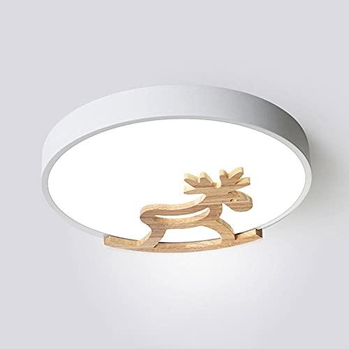CSSYKV Lámpara De Techo LED Regulable China, Moderna, Simple, con Control Remoto, Luz De Techo, Creativa, Redonda, para Niños, Parque De Atracciones, Accesorio De Montaje Empotrado En El Techo