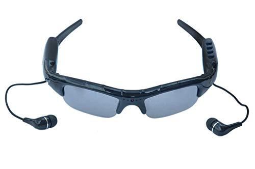 Gafas de cámara 1080 HD Bluetooth Video Gafas de Sol Gafas de Sol Deportes al Aire Libre Registrador de conducción Deportes al Aire Libre Gafas de Sol